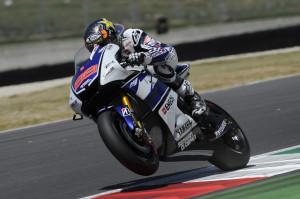 Jorge Lorenzo durante el Gran Premio de Italia