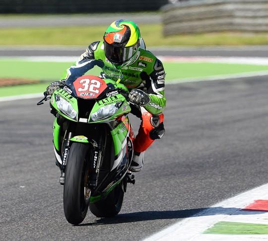 Lorenzo Savadori en Monza 2013