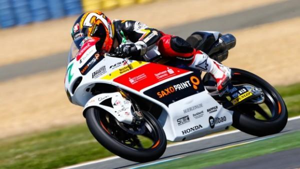 Le Mans Moto3: Pole para Efrén Vázquez