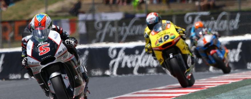 Zarco, Moto2 race, Catalunya MotoGP 2015