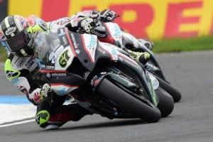 #67 Shane Shakey Byrne PBM Kawasaki Feridax MCE British Superbikes