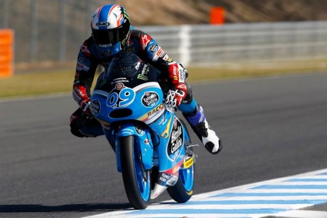 Jorge Navarro desestima luchar por el titulo de Moto3 y llegar a Moto2