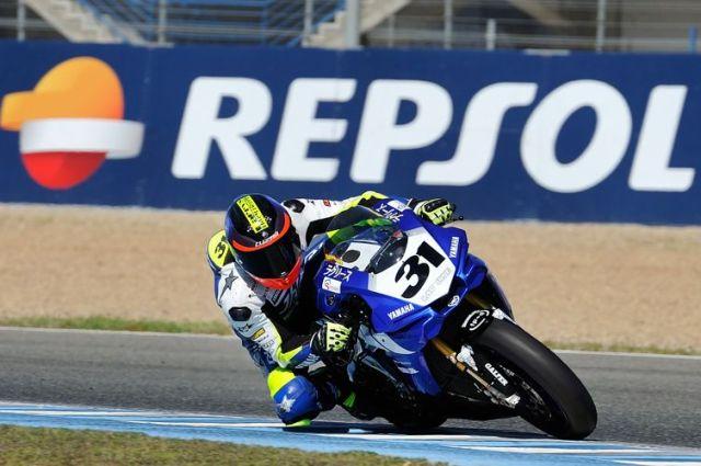 2015: Campeón Campeonato de Europa FIM CEV Superbike. Team Laglisse y Yamaha