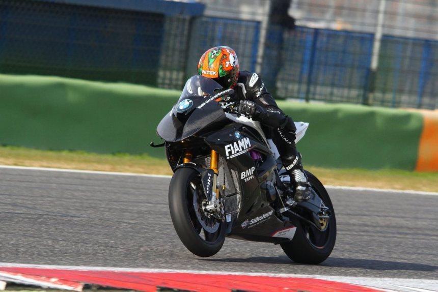 Jordi Torres Test Vallelunga BMW Team Althea