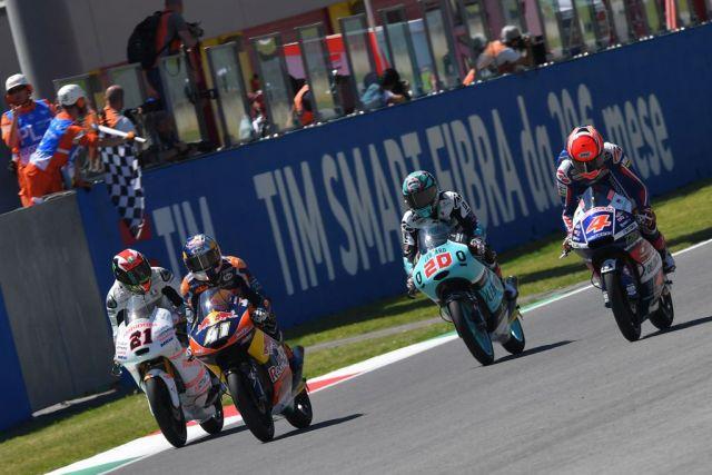 Brad Binder durante el Gran Premio de Italia