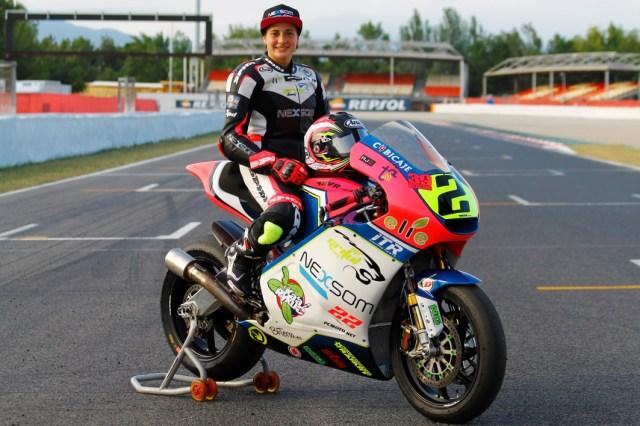 Ana Carrasco en Montmeló