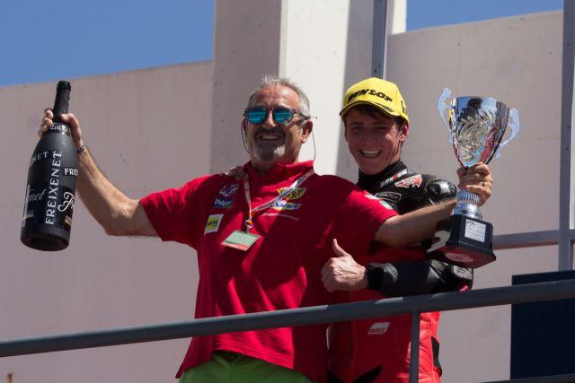 Steven Odendaal y Karlos Argiñano - Foto: © AGR Team