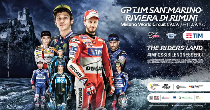 Cartel Promocional Gran Premio de San Marino MotoGp Circuito de Misano