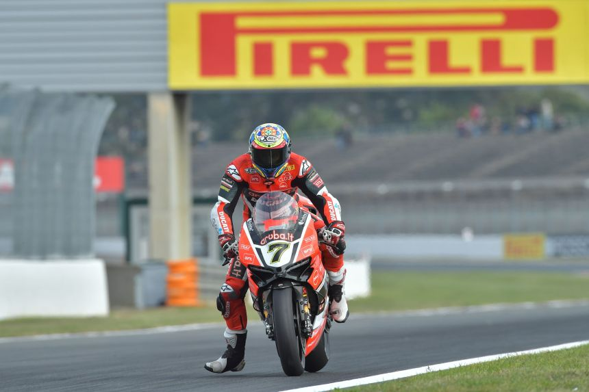 Chaz Davies en Magny Cours