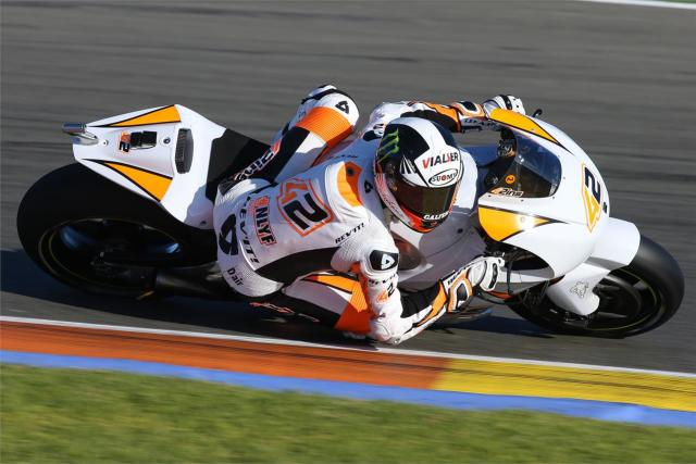 Álex Rins Test MotoGp Valencia