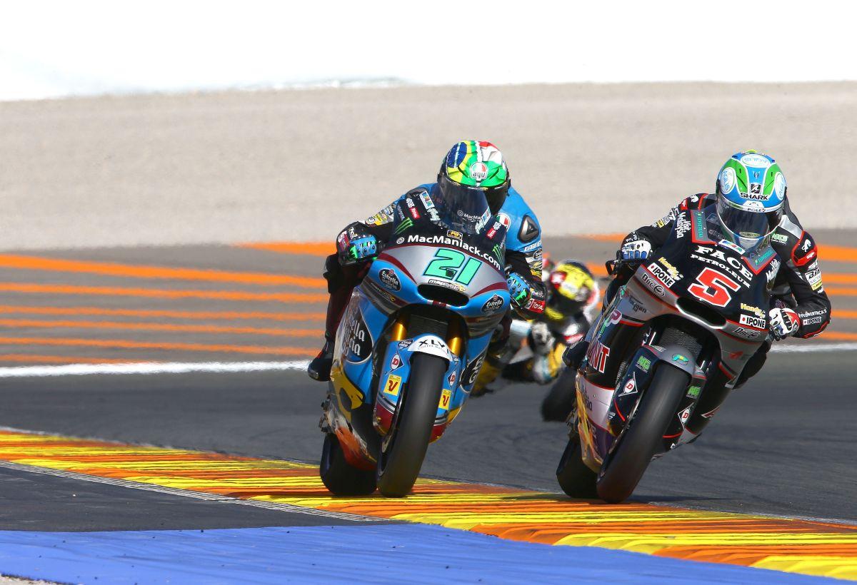 Gran Premio Comunitat Valenciana Moto2 Zarco Morbidelli