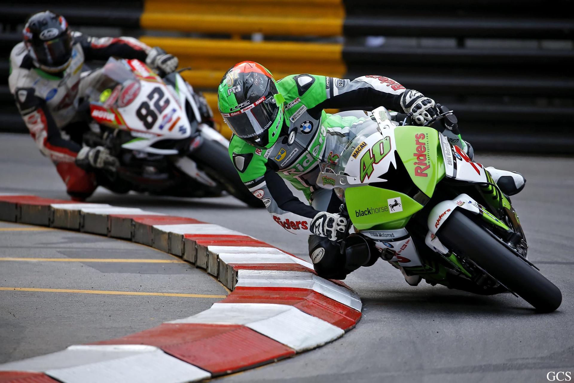 Gran Premio de Macao Martin Jessopp Pole Position