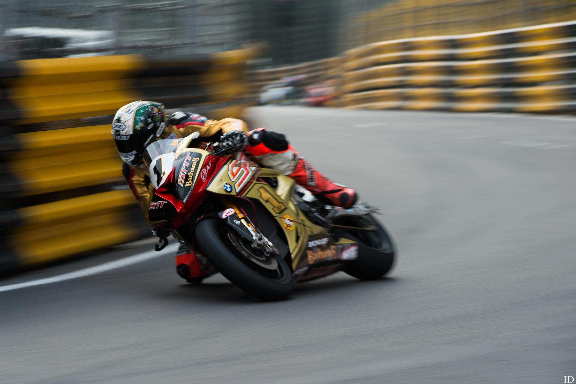 Peter Hickman, ganador del Gran Premio de Macao