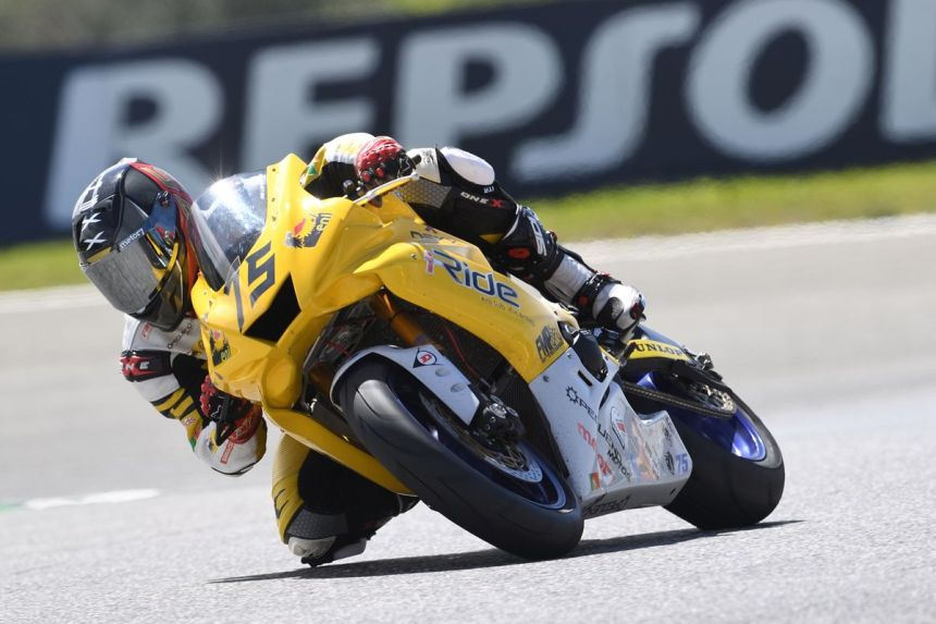 Ivo Lopes en el Circuito de Estoril