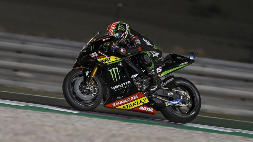 Johann Zarco durante los entrenamientos oficiales del Gran Premio de Qatar de MotoGp