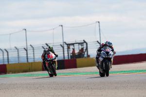 Markus Reiterberger y Maximilian Scheib en Motorland Aragón
