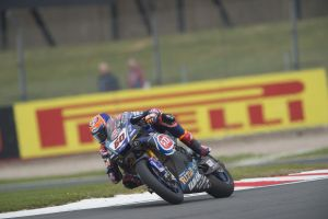Michael Van der Mark en Donington Park
