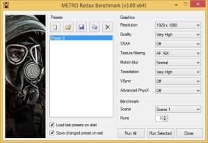 Metro LL Redux Settings