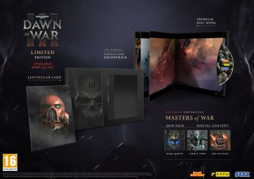 DOW3 - Limited Edition Contents - PEGI