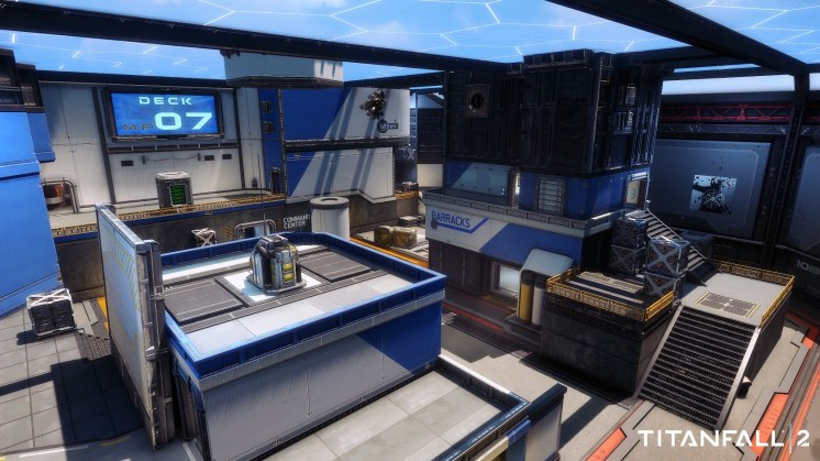 Titanfall 2 Deck Live Fire Map