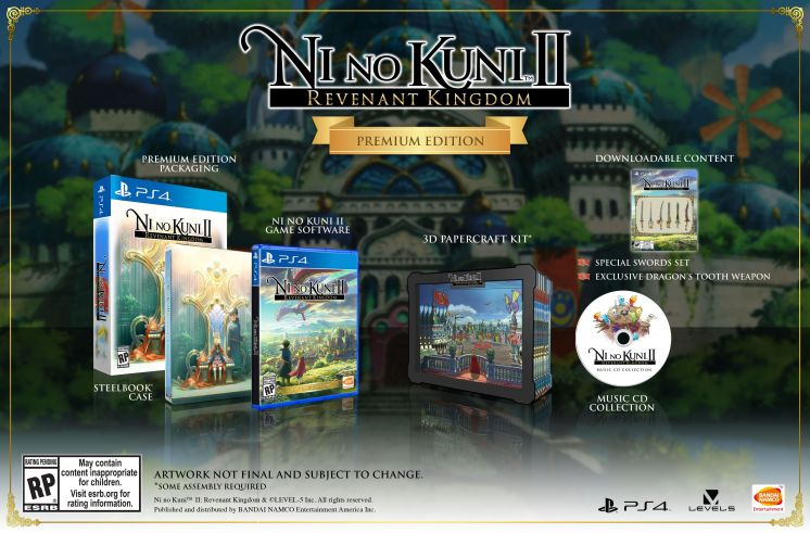 Ni-no-Kuni-II-Revenant-Kingdom Premium Edition