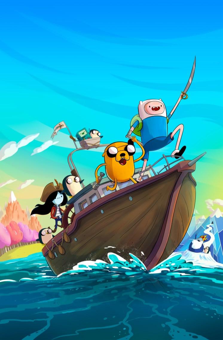 Adventure Time Pirates of the Enchiridion Key Visual