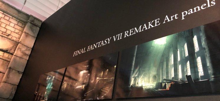 Final Fantasy VII Remake Art Panels 1