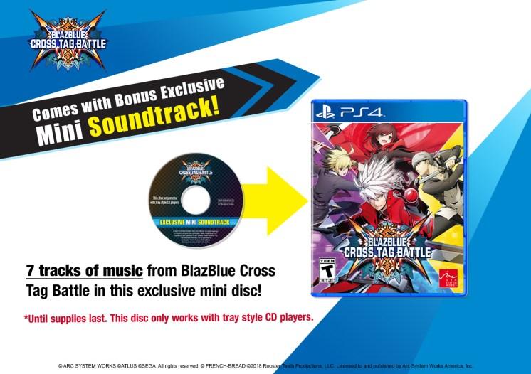 BBTAG Mini Soundtrack Pre-Order - PS4