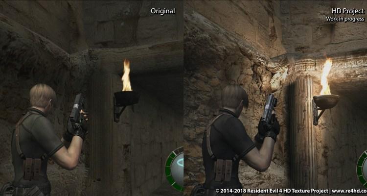 Resident Evil 4 HD Project – Versión 3 ya disponible con más de 28GB
