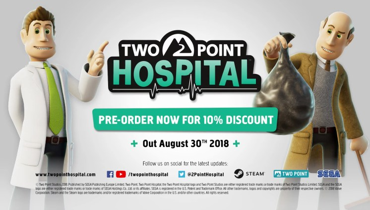 Two Point Hospital Release Date
