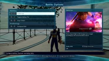 Jump Force Avatar Customization Screen 3