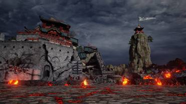 Jump Force Marineford Stage Screen 6