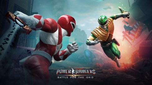 Power Rangers Battle for the Grid Key Art