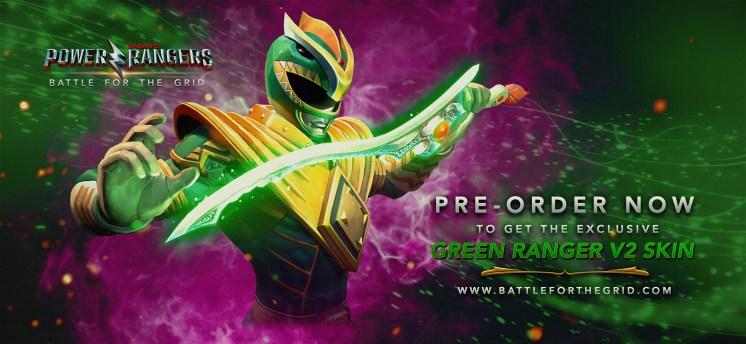 Power Rangers Battle for the Grid Pre-order Bonus