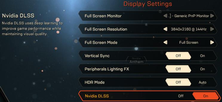 anthem-nvidia-dlss-graphics-menu-option