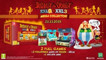 Asterix & Obelix XXL 3 The Crystal Menhir Mega Collector