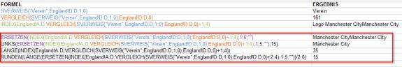 Excel Index Vergleich