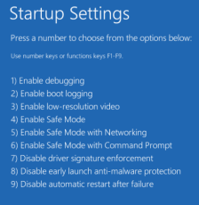 Startup Settings Monitor