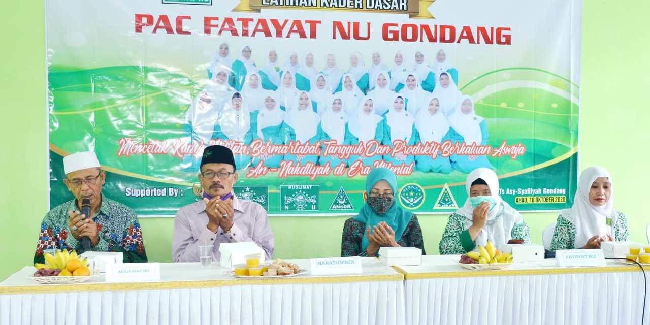 Mencetak Kader Militan dan Loyal, PAC Fatayat NU Gondang Gelar LKD