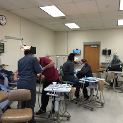 Dental Clinic in action