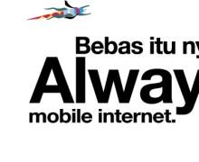 Tri Always On, Internet Aktif Terus dan Banyak Bonus