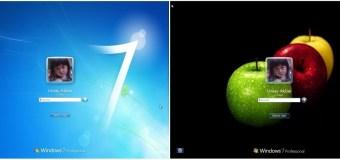 Cara Mudah Ganti Wallpaper Logon Windows 7