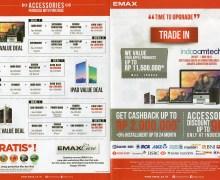 Tukar Tambah di Emax, iPhone Dihargai Rp11,5 Juta