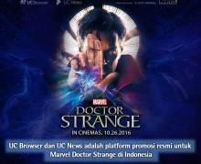 UCWeb Menjadi Mitra Resmi untuk Promosi Film Doctor Strange