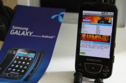 Samsung I7500 Galaxy na Android platformi.jpg