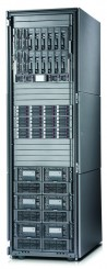 HP StorageWorks 9100 Extreme Data Storage System with blanks on top