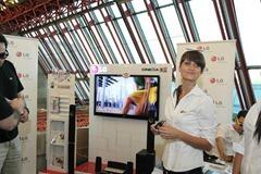 Stand kompanije LG Electronics na dodeli Biznis partner nagrada