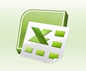 Green Microsoft Excel Spreadsheet Logo