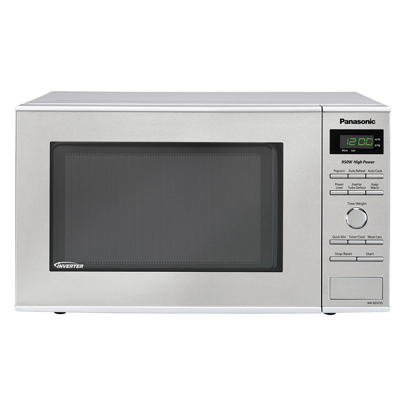 panasonic 19 0 8 cu ft countertop microwave with 10 power levels sensor cooking control stainless steel