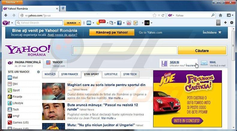Toolbar Homepage Show